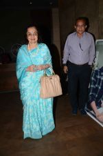 Asha Parekh at the sreening of Kapoor N Sons in Lightbox on 17th March 2016