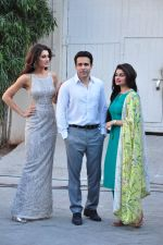 Emraan Hashmi, Nargis Fakhri & Prachi Desai snapped at Azhar photoshoot on 17th March 2016 (15)_56ebe956d9567.JPG