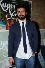 Fawad Khan at the sreening of Kapoor N Sons in Lightbox on 17th March 2016