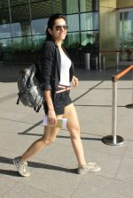 Sonnalli Seygall snapped at airport on 17th March 2016