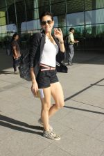 Sonnalli Seygall snapped at airport on 17th March 2016 (93)_56ebeafe3416a.JPG