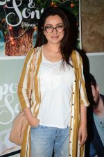 Tisca Chopra at the sreening of Kapoor N Sons in Lightbox on 17th March 2016 (34)_56ebe9023bcac.JPG