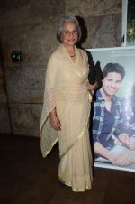 Waheeda Rehman at the sreening of Kapoor N Sons in Lightbox on 17th March 2016 (17)_56ebe8f9b2464.JPG