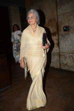Waheeda Rehman at the sreening of Kapoor N Sons in Lightbox on 17th March 2016 (18)_56ebe8fab4ed2.JPG