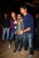 Alia Bhatt, Sidharth Malhotra, Shakun Batra at Kapoor n Sons promotions on 18th March 2016 (62)_56ed4596521c9.JPG