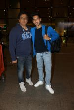 Armaan Malik snapped at airport on 19th March 2016