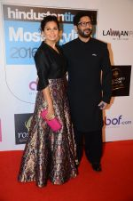 Arshad Warsi, Maria Goretti at HT Most Stylish on 20th March 2016