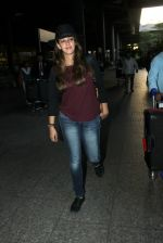 Hazel Keech snapped at airport on 19th March 2016