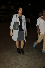 Huma Qureshi snapped at airport on 19th March 2016