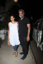 R Balki, Gauri Shinde snapped post dinner at Olive in Bandra on 20th March 2016 (7)_56efbefc5e9d1.JPG