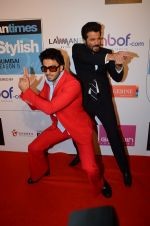 Ranveer Singh, Anil Kapoor at HT Most Stylish on 20th March 2016