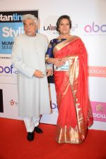 Shabana Azmi, Javed Akhtar at HT Most Stylish on 20th March 2016 (237)_56f00bb2f0e51.JPG