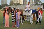 Tara Sharma, Rashmi Nigam at Yes Polo Cup on 19th March 2016