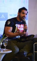 John Abraham promote Rocky Handsome in Delhi on 21st March 2016 (61)_56f0f343ea3a1.JPG