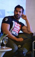 John Abraham promote Rocky Handsome in Delhi on 21st March 2016