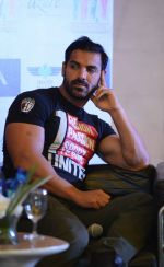 John Abraham promote Rocky Handsome in Delhi on 21st March 2016 (66)_56f0f3480fd94.JPG