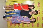 Patralekha, Tara Berry, and Gaurav Arora at radio mirchi studio to promote their film on 21st March 2016 (1)_56f0e7e3199b7.JPG