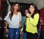 Shamita Shetty, Shilpa Shetty snapped with family at pvr on 21st March 2016