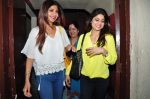 Shilpa Shetty snapped with family at pvr on 21st March 2016