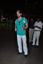 Sooraj Pancholi snapped at airport on 21st March 2016