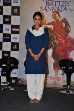 Swara Bhaskar at Nil Battey Sannata film press meet on 21st March 2016