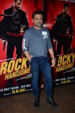 Anees Bazmee at Rocky Handsome screening in Mumbai on 23rd March 2016