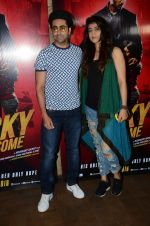Ayushmann Khurrana at Rocky Handsome screening in Mumbai on 23rd March 2016