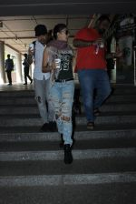 Jacqueline Fernandez snapped at airport on 23rd March 2016