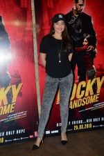 Sonakshi Sinha at Rocky Handsome screening in Mumbai on 23rd March 2016