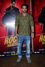 at Rocky Handsome screening in Mumbai on 23rd March 2016
