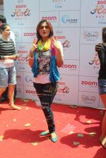 Deepshikha at Zoom Holi celebration on 24th March 2016