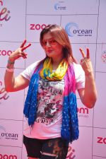Deepshikha at Zoom Holi celebration on 24th March 2016 (212)_56f5196f455a6.JPG