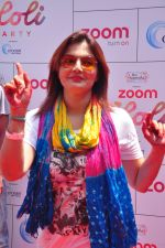 Deepshikha at Zoom Holi celebration on 24th March 2016 (213)_56f51970ecf5d.JPG