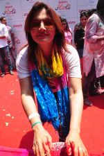 Deepshikha at Zoom Holi celebration on 24th March 2016 (214)_56f51972e2f47.JPG