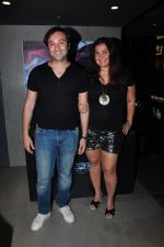 Divya palat, Aditya Hitkari at Batman vs spiderman screening on 24th March 2016