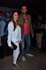 Esha Deol, Abhay Deol at Batman vs spiderman screening on 24th March 2016