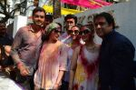 Esha Deol, Govinda at Holi celebration on 24th March 2016 (29)_56f518ed9d74f.JPG
