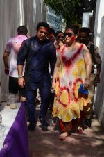 Govinda at Holi celebration on 24th March 2016 (19)_56f518b18ad02.JPG
