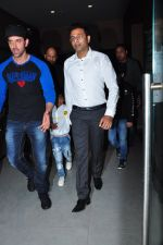 Hrithik Roshan at Batman vs spiderman screening on 24th March 2016