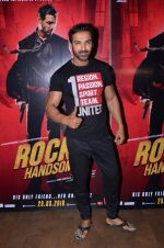 John Abraham at Rocky Handsome screening on 24th March 2016