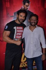 John Abraham, Nishikant Kamat at Rocky Handsome screening on 24th March 2016