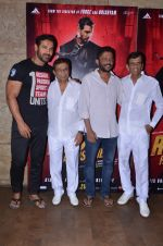 John Abraham, Nishikant Kamat, Abbas Mastan at Rocky Handsome screening on 24th March 2016