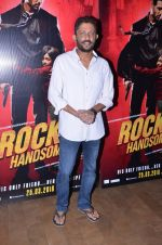 Nishikant Kamat at Rocky Handsome screening on 24th March 2016