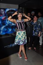 Shibani Kashyap at Batman vs spiderman screening on 24th March 2016