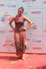 Swara Bhaskar at Zoom Holi celebration on 24th March 2016
