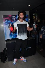 Vidyut Jamwal at Batman vs spiderman screening on 24th March 2016