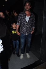 Zayed Khan at Batman vs spiderman screening on 24th March 2016