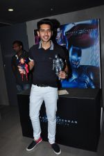 at Batman vs spiderman screening on 24th March 2016