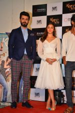 Alia Bhatt, Fawad Khan at Kapoor and Sons Success Meet on 25th March 2016