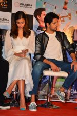 Alia Bhatt, Sidharth Malhotra at Kapoor and Sons Success Meet on 25th March 2016